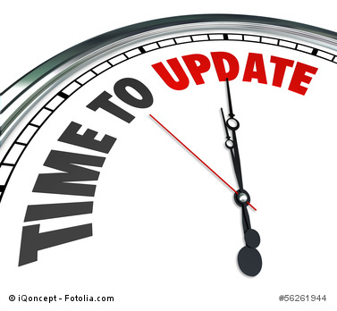 Time to update 56261944_XS_copyright iQoncept fotolia.com