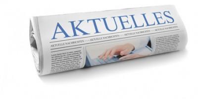 Zeitung mit Aktuellem