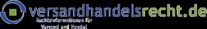 versandhandelsrecht.de – Rechtsinformationen für Versand und Handel